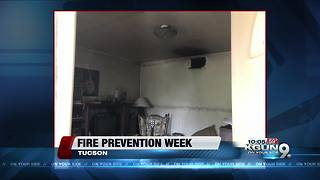 Fire Prevention Week underway in Tucson
