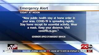 State to send reminder of stay-at-home order