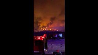 Firefighters battle Avondale Fire
