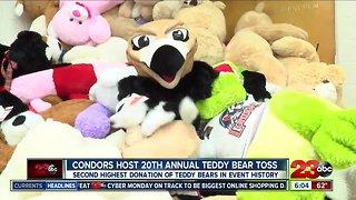 Condors host 20th annual Teddy Bear Toss