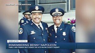 Former Highland Park Police Chief Hilton Napoleon says goodbye to brother Benny Napoleon