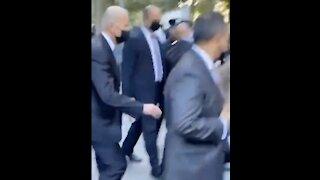 WATCH: Biden Booed At 9/11 Memorial, Trump Cheered With Hero's Welcome!