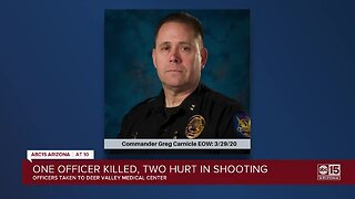 Phoenix Police commander killed, two officers hurt Sunday in shooting in north Phoenix