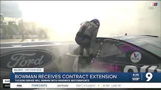 Alex Bowman signs contract extension