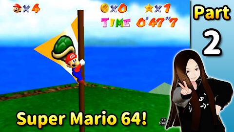 🇺🇸 🇯🇵 Vtuber Let's Play! - ⭐️ Super Mario 64 (Part 02)