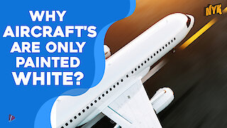 Why are planes painted White?