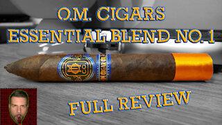 O.M. Cigar Essential Blend No. 1 (Full Review) - Should I Smoke This