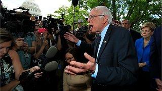 Bernie Sanders Has Early Lead Over Elizabeth Warren
