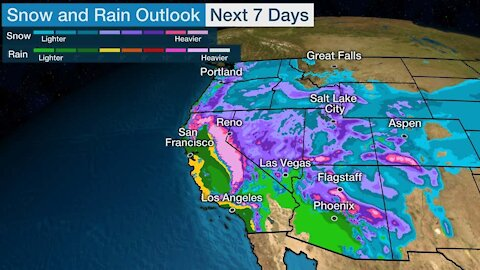 2 Years Worth Of Rainfall To Hit The SouthWest Next Week - Volcanoes Awaken - Climate Change Is Back