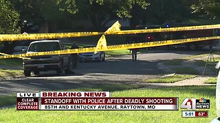 Arrest made after standoff following Raytown homicide