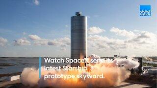 SpaceX Starship SN6 150m Flight Test