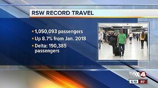 RSW record travel
