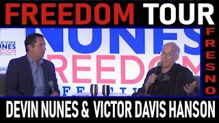 Freedom Tour Fresno: Devin Nunes and Victor Davis Hanson