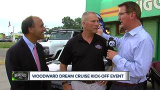Woodward Dream Cruise kick off event