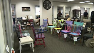 Artful Chairs in Downtown Appleton
