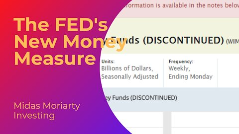 The FED's New Money Measure