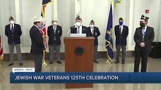 Jewish War Veterans celebrate 125 years of service