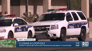 Phoenix Police Department to report more misconduct to board