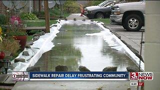Sidewalk Repair Frustrating Community