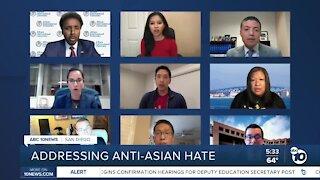 San Diego forum addressing anti-Asian hate