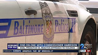 One-on-one with Commissioner Harrison