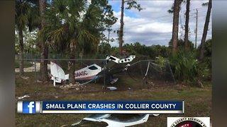 Small plane crash in Collier County
