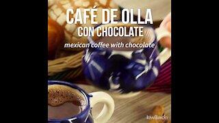 Coffee Pot with Chocolate