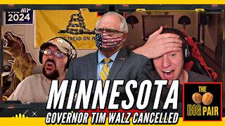 Minnesota Governor Tim Walz & Daunte Wright