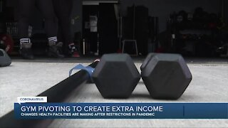Gym pivoting to create extra income