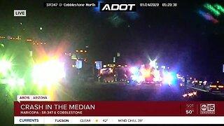 Serious crash in Maricopa