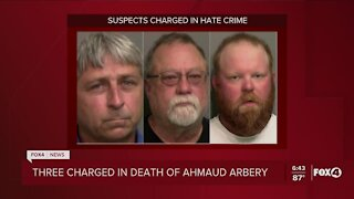 Justice Department indicts 3 men on federal hate crime charges in death of Ahmaud Arbery