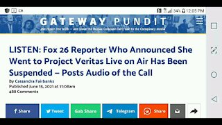 Local Reporter Suspended For On Air Disclosure...