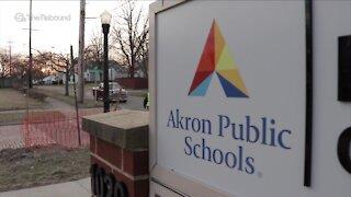 Akron Public School teachers make last minute push for learning