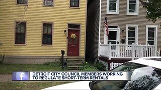 Detroit city council members working to regulate short-term rentals