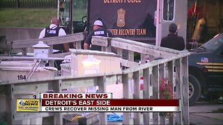 Crews recover missing man from river