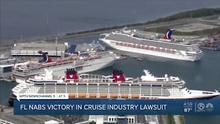Florida nabs victory in cruise industry lawsuit