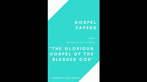"""""""The Glorious Gospel of the Blessed God"""""""