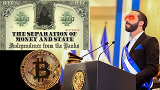 The Separation of Money + State: El Salvador to Adopt #Bitcoin as Legal Tender
