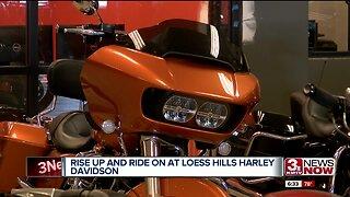 Loess Hill Harley Davidson Reopening