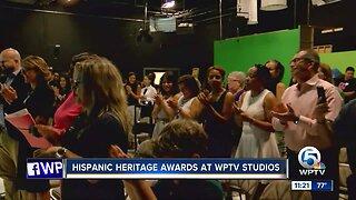 Hispanic Heritage Awards held at WPTV studios