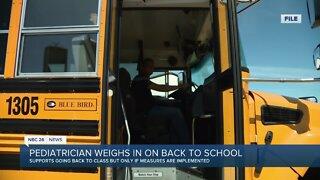 Aurora Health Doctor says kids should go back to school
