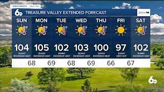 Frankie's July 10, 2021 Forecast