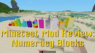 Minetest Mod Review: Numeracy Blocks