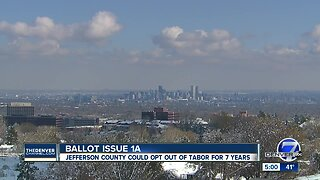 Ballot issue 1A causing controversy in Jefferson County