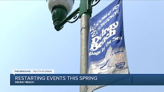 Delray Beach begins scheduling more city events,