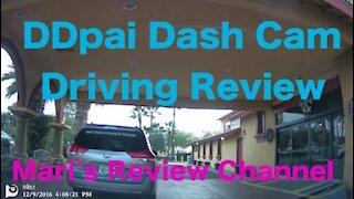DDPAI Mini 2 Dash Cam Driving Review