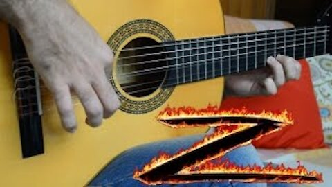 The Mask of Zorro theme - Fingerstyle Guitar
