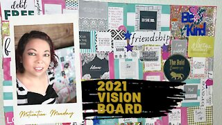 Motivation Monday | 2021 Vision Board