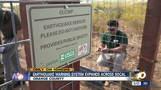 Earthquake warning system expands across SoCal
