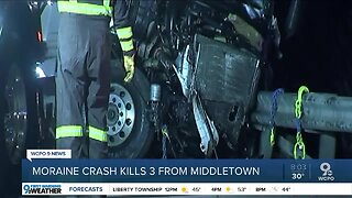 Wrong-way crash kills 3 people from Middletown